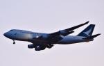 鉄バスさんが、成田国際空港で撮影したキャセイパシフィック航空 747-467F/ER/SCDの航空フォト(写真)