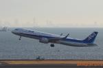 湖景さんが、羽田空港で撮影した全日空 A321-272Nの航空フォト(写真)