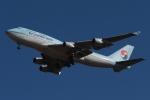 木人さんが、成田国際空港で撮影した大韓航空 747-4B5の航空フォト(写真)
