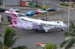 ITM58さんが、ダニエル・K・イノウエ国際空港で撮影したオハナ・バイ・ハワイアン ATR-42-500の航空フォト(写真)