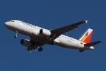木人さんが、成田国際空港で撮影したフィリピン航空 A320-214の航空フォト(写真)