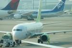 485k60さんが、羽田空港で撮影したソラシド エア 737-86Nの航空フォト(飛行機 写真・画像)