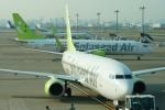485k60さんが、羽田空港で撮影したソラシド エア 737-81Dの航空フォト(飛行機 写真・画像)