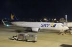 485k60さんが、福岡空港で撮影したスカイマーク 737-86Nの航空フォト(飛行機 写真・画像)