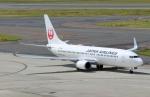 ハピネスさんが、中部国際空港で撮影した日本航空 737-846の航空フォト(飛行機 写真・画像)