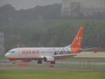 485k60さんが、福岡空港で撮影したチェジュ航空 737-86Nの航空フォト(飛行機 写真・画像)