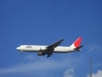 485k60さんが、福岡空港で撮影した日本航空 767-346の航空フォト(飛行機 写真・画像)