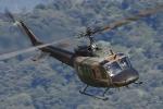 meskinさんが、山形空港で撮影した陸上自衛隊 UH-1Jの航空フォト(写真)
