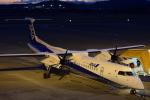 ぬま_FJHさんが、高知空港で撮影したANAウイングス DHC-8-402Q Dash 8の航空フォト(写真)