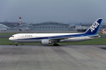 Gambardierさんが、名古屋飛行場で撮影した全日空 767-381の航空フォト(写真)