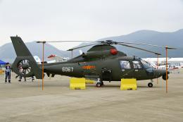 ちゃぽんさんが、珠海金湾空港で撮影した中国人民解放軍 空軍 Z-9Aの航空フォト(飛行機 写真・画像)