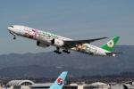 takoyanさんが、ロサンゼルス国際空港で撮影したエバー航空 777-35E/ERの航空フォト(写真)
