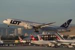 takoyanさんが、ロサンゼルス国際空港で撮影したLOTポーランド航空 787-9の航空フォト(写真)