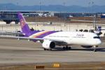 セブンさんが、関西国際空港で撮影したタイ国際航空 A350-941の航空フォト(飛行機 写真・画像)