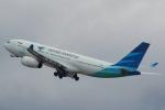 セブンさんが、関西国際空港で撮影したガルーダ・インドネシア航空 A330-243の航空フォト(飛行機 写真・画像)