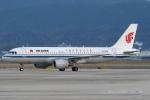 セブンさんが、関西国際空港で撮影した中国国際航空 A320-214の航空フォト(飛行機 写真・画像)