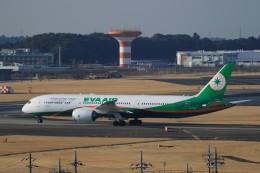 ☆ライダーさんが、成田国際空港で撮影したエバー航空 787-9の航空フォト(写真)