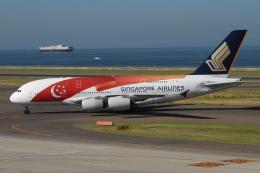 rjジジィさんが、中部国際空港で撮影したシンガポール航空 A380-841の航空フォト(写真)