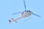 500さんが、自宅上空で撮影した朝日航洋 AS355F1 Ecureuil 2の航空フォト(写真)
