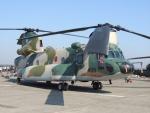 485k60さんが、茨城空港で撮影した航空自衛隊 CH-47J/LRの航空フォト(飛行機 写真・画像)