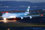 344さんが、関西国際空港で撮影したキャセイパシフィック航空 747-867F/SCDの航空フォト(写真)