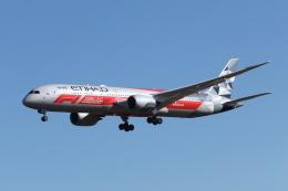 mogusaenさんが、成田国際空港で撮影したエティハド航空 787-9の航空フォト(写真)