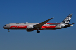 mazdaspeed3さんが、成田国際空港で撮影したエティハド航空 787-9の航空フォト(写真)