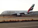 PW4090さんが、関西国際空港で撮影したエミレーツ航空 A380-861の航空フォト(写真)
