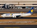 名無しの権兵衛さんが、羽田空港で撮影したスカイマーク 737-8ALの航空フォト(写真)