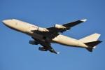 デルタおA330さんが、横田基地で撮影したカリッタ エア 747-4B5(BCF)の航空フォト(写真)