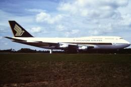 tassさんが、成田国際空港で撮影したシンガポール航空 747-312の航空フォト(飛行機 写真・画像)