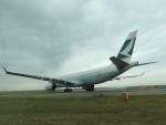 mori15moriさんが、中部国際空港で撮影したキャセイパシフィック航空 A330-343Xの航空フォト(写真)