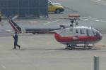 MOR1(新アカウント)さんが、福岡空港で撮影した読売新聞 Bo 105Sの航空フォト(写真)
