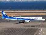 SK51Aさんが、羽田空港で撮影した全日空 A321-272Nの航空フォト(写真)