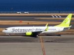 SK51Aさんが、羽田空港で撮影したソラシド エア 737-81Dの航空フォト(写真)