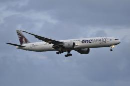 Orange linerさんが、成田国際空港で撮影したカタール航空 777-3DZ/ERの航空フォト(写真)
