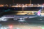 らむえあたーびんさんが、羽田空港で撮影したカタール航空 A350-941XWBの航空フォト(写真)