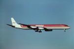 tassさんが、成田国際空港で撮影したエメリー・ワールドワイド DC-8-63CFの航空フォト(飛行機 写真・画像)