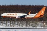 Snow manさんが、新千歳空港で撮影したチェジュ航空 737-8Q8の航空フォト(写真)
