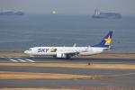 わいどあさんが、羽田空港で撮影したスカイマーク 737-8ALの航空フォト(写真)