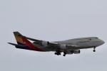 GRX135さんが、新千歳空港で撮影したアシアナ航空 747-48Eの航空フォト(写真)