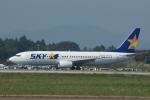 485k60さんが、茨城空港で撮影したスカイマーク 737-86Nの航空フォト(飛行機 写真・画像)