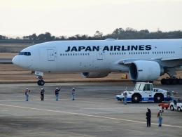 ✈︎Love♡ANA✈︎さんが、長崎空港で撮影した日本航空 777-246/ERの航空フォト(写真)