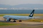 ハピネスさんが、関西国際空港で撮影したキャセイパシフィック航空 777-367/ERの航空フォト(飛行機 写真・画像)