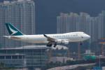 BENKIMAN-ENLさんが、香港国際空港で撮影したキャセイパシフィック航空 747-467F/ER/SCDの航空フォト(写真)