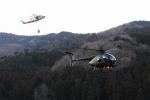SAMBAR-2463さんが、埼玉県ときがわ町(場外)で撮影した陸上自衛隊 OH-6Dの航空フォト(写真)