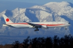 ウッディーさんが、新千歳空港で撮影した航空自衛隊 777-3SB/ERの航空フォト(写真)