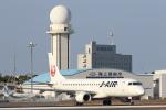 安芸あすかさんが、鹿児島空港で撮影したジェイ・エア ERJ-190-100(ERJ-190STD)の航空フォト(写真)