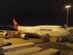 tmkさんが、シドニー国際空港で撮影したカンタス航空 747-438の航空フォト(写真)