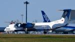 パンダさんが、成田国際空港で撮影したオーロラ DHC-8-402Q Dash 8の航空フォト(飛行機 写真・画像)